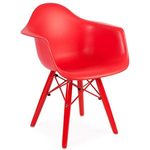 Kinder Stuhl Eames DAW Color - Rot