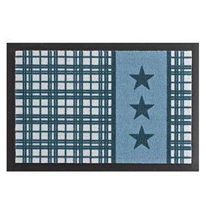 HANSE Home 102515 Fußmatte, Polyamid, blau, 40 x 60 x 0,7 cm
