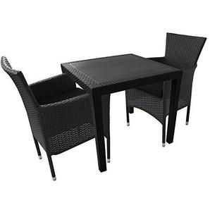 balkonsets durchgehend stilvoll moebel24. Black Bedroom Furniture Sets. Home Design Ideas