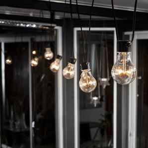 Glühbirnen-Lichterkette Erweiterungssystem mit 10 Leuchten