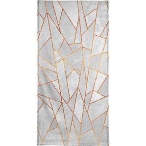 Handtuch »Shattered Concrete«, Juniqe, Weiche Frottee-Veloursqualität