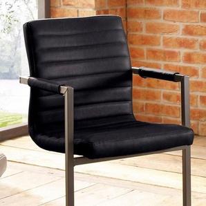 Premium collection by Home affaire Freischwinger »Parzival«, schwarz
