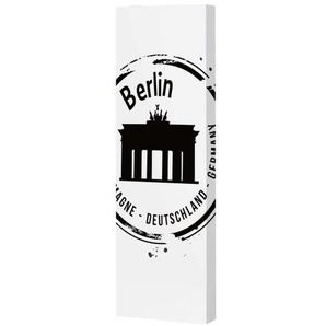 Mehrzweck-Dreh-Schrank Berliner Tor Stahlblech pulverbeschichtet ca. 47 x 150 x 18 cm