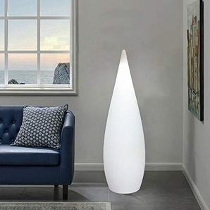 Arnusa Oasis Lights Große Stehlampe Designlampe mit Fernbedienung 16 Farben! Stehleuchte Moderne Lampe (Kegelleuchte (46x150cm))