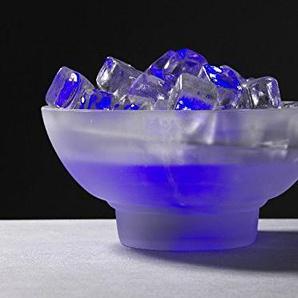 LED Zimmerbrunnen Rund-Eckig LED Wassersäule (Tischvernebler Ice)