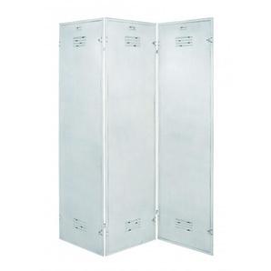 Paravent Metall weiß HAKU MÖBEL 30351 (BHT 135x180x2 cm)