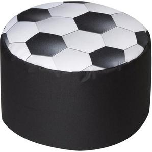 Sitting Point Sitzhocker DotCom Soccer 60 l Schwarz