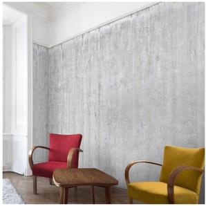 Bilderwelten Beton Vliestapete Premium Breit »Große Loft Betonwand«