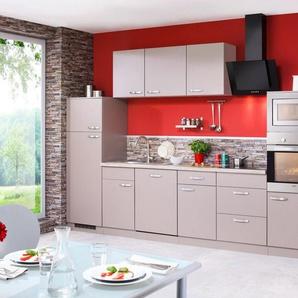 Küchenzeile mit E-Geräten »Kansas«, Breite 340 cm