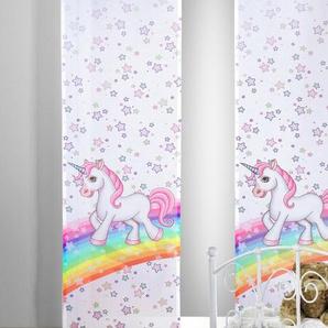 Albani Schiebevorhang, Pink, Polyester 60 x 245 cm