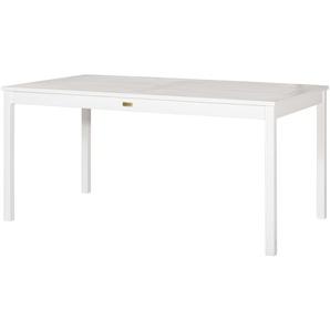 Yorkshire Landhaus-Tisch  Eden ¦ weiß ¦ Maße (cm): B: 90 H: 74