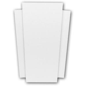 Byblos Regalfront PROFHOME 155005 Zierelement Neo-Klassizismus-Stil weiß - PROFHOME DECOR
