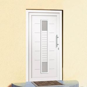 Roro Kunststoff-Haustür »A906« BxH: 110 x 210 cm, weiß