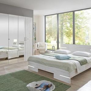 Wimex Schlafzimmer-Set »Anna«, 4-teilig, weiß