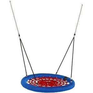 Nestschaukel Rosette Ø120cm schwarz-blau-rot für öffentlichen Bereich