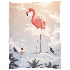 Flamingo and Friends - Fleecedecke