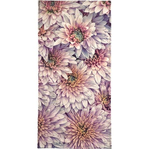 Handtuch »Wheeping Chrysanthemums«, Juniqe, Weiche Frottee-Veloursqualität