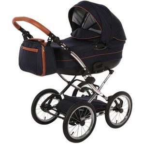 : Kinderwagen-Set, Blau, B/H/T 60 107 110