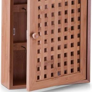 Home affaire Schlüsselbox, braun, 20x5,5x26cm