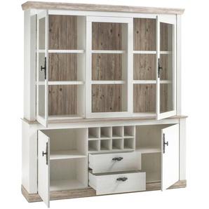 JUSTyou Samwell Wohnzimmerset Wohnzimmer Komplett Pinie Weiß |