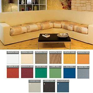 Capitan Casa Sofabezug für Sofa Eck Genius Suit Maxi in Uni Maxi rot