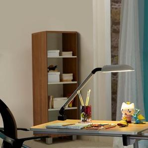 Paidi Schreibtischlampe, silber, Alu, Eisen, Stahl & Metall