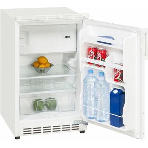 Einbaukühlschrank UKS 115-8, 81,5 cm hoch, 49,5 cm breit, A+, dekorfähig, Energieeffizienz: A+, weiß, Energieeffizienzklasse: A+, Exquisit