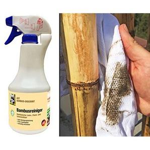 AST Bambus Reiniger - zur Reinigung von Bambus Produkten wie Bambusrohr, Bambuszäune und Schilfrohrmatten - Schmutzlöser mit guter Reinigungsleistung