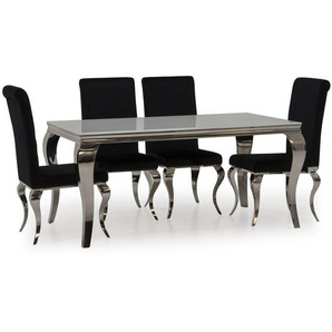 Essgruppe Bowermans mit 4 Stühlen