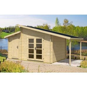 450 cm x 440 cm Gartenhaus Aktiva Varianta