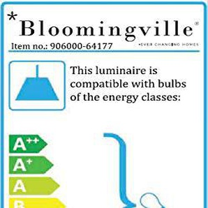 Bloomingville 906000 Lampe / Deckenlampe / Pendellampe - Bamboo - Bambus - Ø 42 - Höhe 30cm