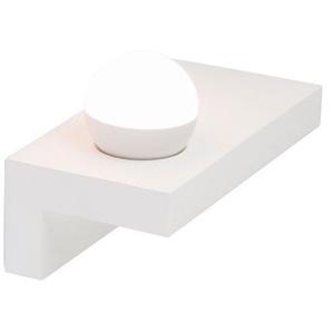 GLOBO LED Wandlampe CHRISTINE aus weißem Gips