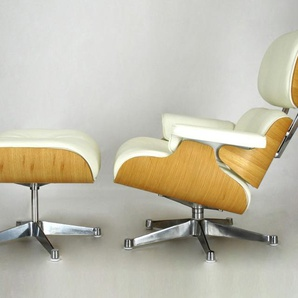 Eames Lounge Sessel - Nußbaum hell