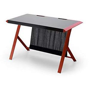 MC Racing, Schreibtisch, Computertisch, MDF/Schwarz/Rot, 60 x 127 x 75 cm, 40141SR4