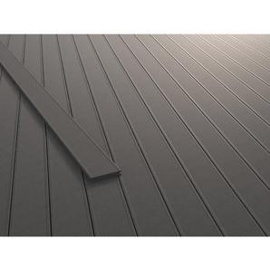 Kovalex Terrassendiele WPC Massiv 2 cm x 14,5 cm x 300 cm Grau