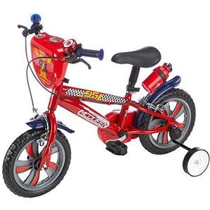 Disney Cars Kinder-Fahrrad, Kinder, Cars, rot, 12