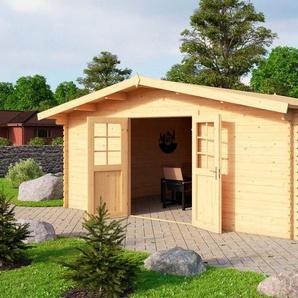 NORDIC HOLZ Gartenhaus »Nienstedten 3«, BxT: 496x396 cm