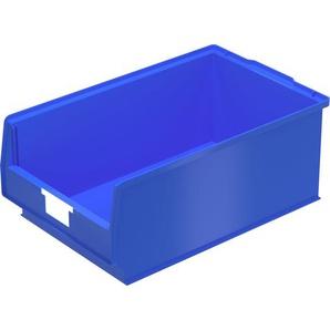 BITO-Lagertechnik Sichtlagerkasten PK Set inklusive Etikett / PK2 500x315x200 blau inklusive Etike
