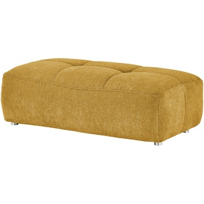 bobb Polsterhocker | gelb | 120 cm | 44 cm | 63 cm | Möbel Kraft