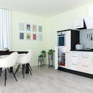 RESPEKTA Küchenzeile mit E-Geräten »RP300«, Breite 300 cm