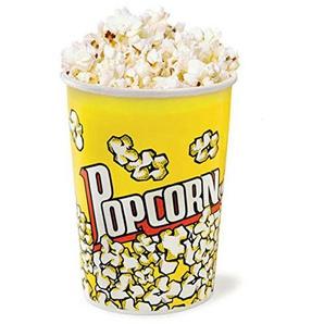 KuKoo 25 x Popcorn Kartons Popcornbox Popcorntüten Tüten Boxen