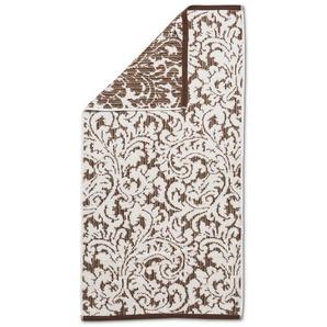 Handtuch, Schoko, Baumwolle 50 x 100 cm