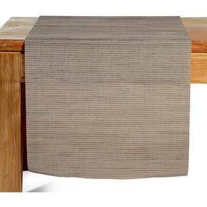 Tischläufer meliert, B:40cm x L:150cm