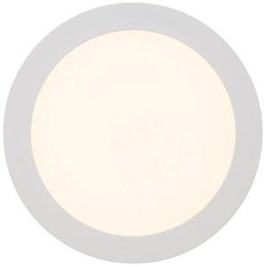 Brilliant Leuchten Laureen LED Einbauleuchte 23cm fest weiß