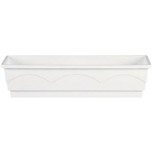 Emsa Blumenkasten »LAGO«, BxTxH: 75x22x18 cm, weiß