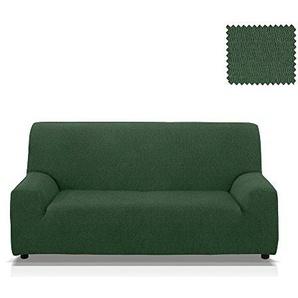 JM Textil Elastische Sofahusse Minerva, Grösse 4 Sitzer (von 205 bis 245 cm.), Farbe Grün (Mehrere Farben verfügbar)