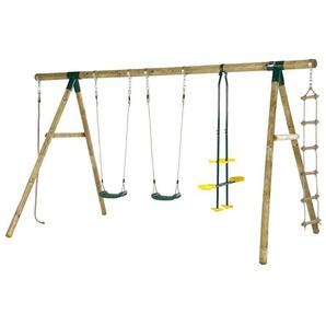 Plum® Orang-Utan Holz Schaukel- und Kletterset