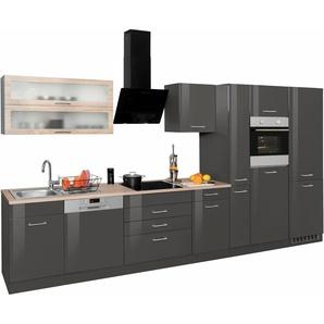 HELD MÖBEL Küchenzeile »Utah«, ohne E-Geräte, Breite 390 cm