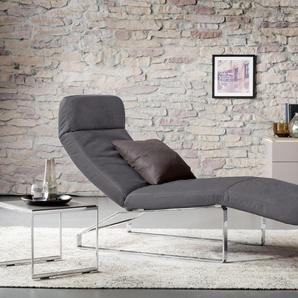 Relaxliege , beige, 72cm, verstellbar, »Giulia«, , , GALLERY M