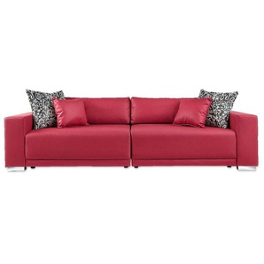 bigsofas in rot preisvergleich moebel 24. Black Bedroom Furniture Sets. Home Design Ideas